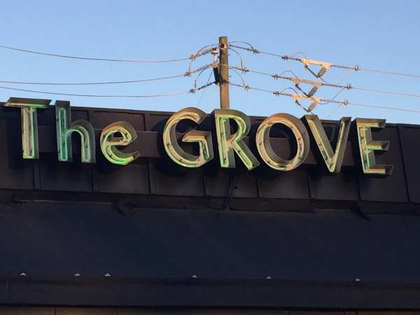 The Grove sign
