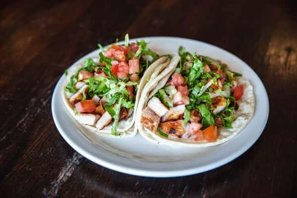 Grilled Chicken / Pollo Asada Tacos
