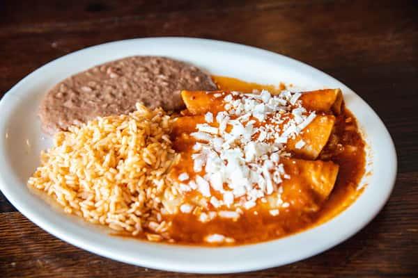 Enchiladas De Domingo