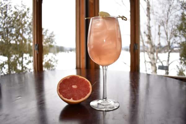 Grapefruit Gin Gin