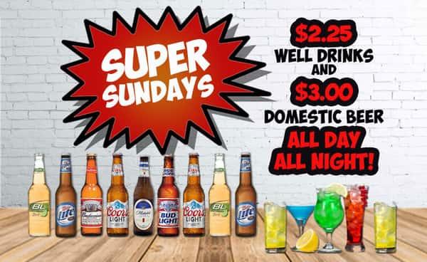 Super Sunday Beer Specials