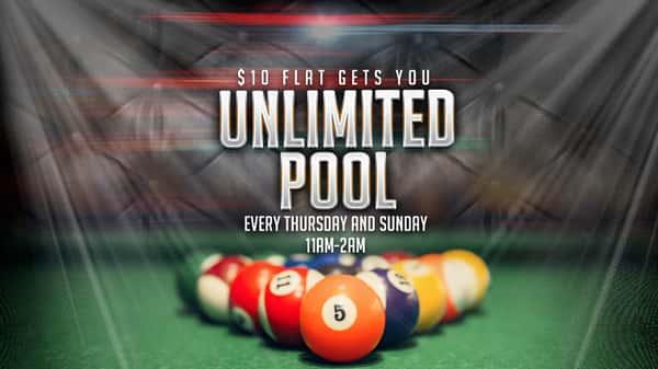 $10 Flat Rate Pool