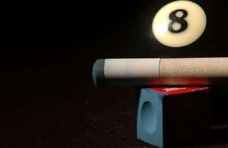 8 ball and cue stick