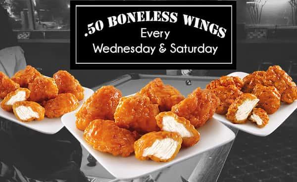 Boneless Wings Special