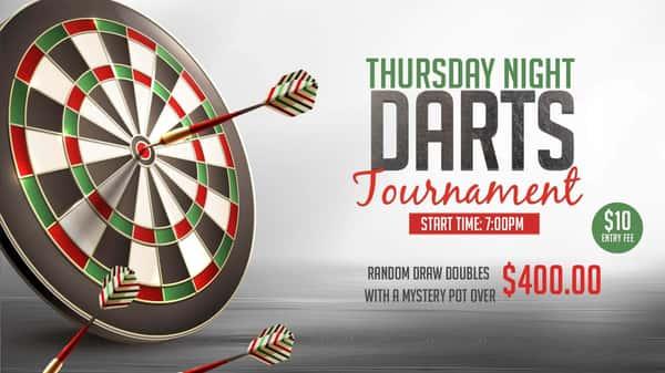 Waco Dart Tournaments Thursday Nights