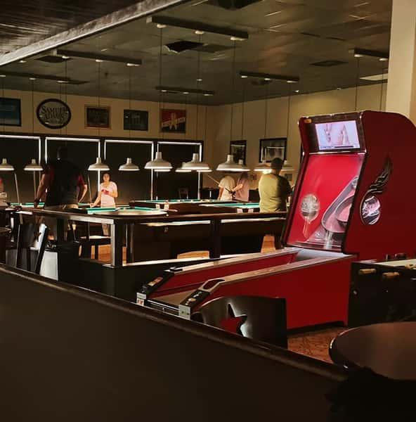 arcade area of Clicks