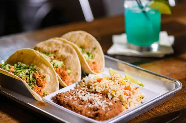 Pulled Beef & Chipotle Chicken Tacos