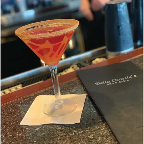 Carmel Apple Martini