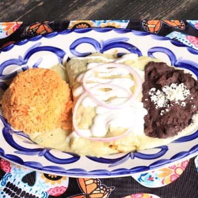 Swiss Enchiladas