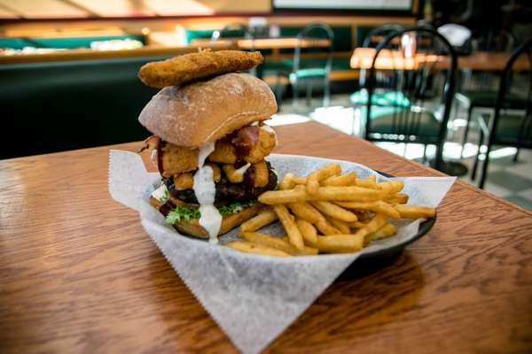Fat larry burger