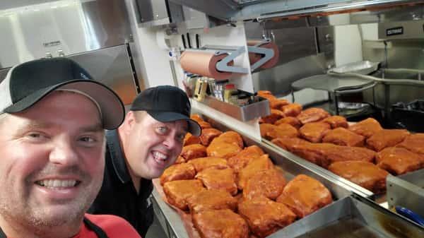Food truck staff