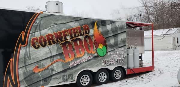 Cornfield BBQ food truck