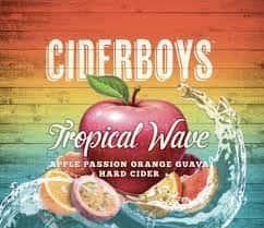 Ciderboys Tropical Wave, Hard Cider