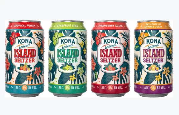 Kona Spike Island Seltzers, Can