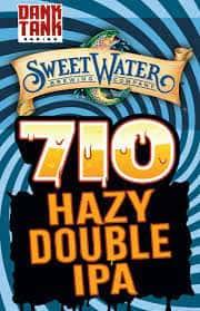 SweetWater 710 (Dank Tank) Hazy Double IPA