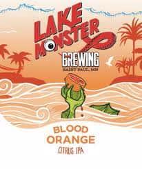 Lake Monster Blood Orange Citrus IPA