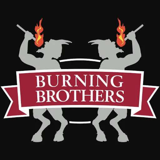 Burning Brothers, 16 oz Can - Assorted Flavors (Gluten Free)