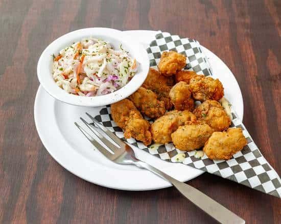 Fried Oyster Basket (10)