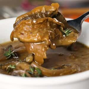 Slow Cooked Mushroom Soup Great holiday addition to your Thanksgiving Meal