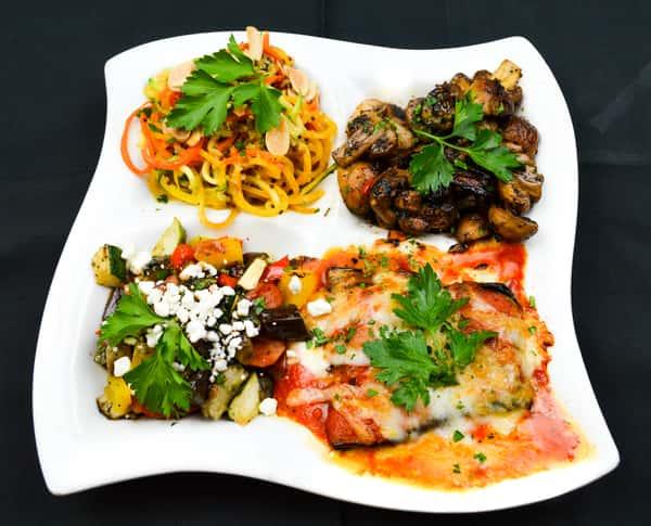 Plato Vegetariano (Vegetarian Plate)