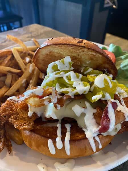 Bloomin Buffalo Sandwich