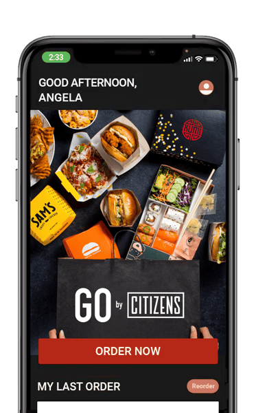 Go by Citizens mobile app