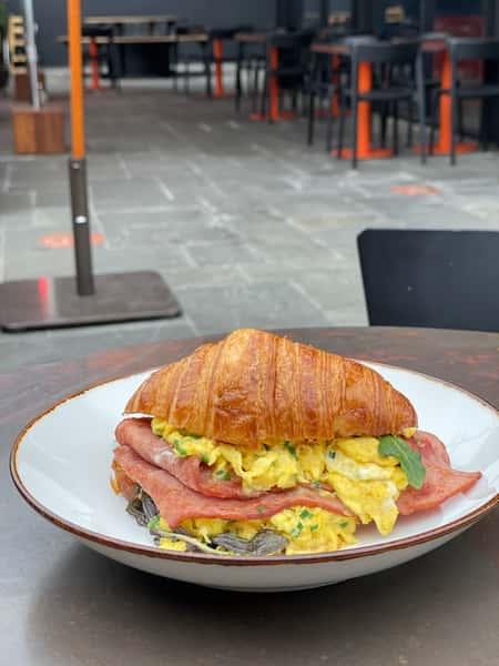 Croissant Breakfast Sandwic