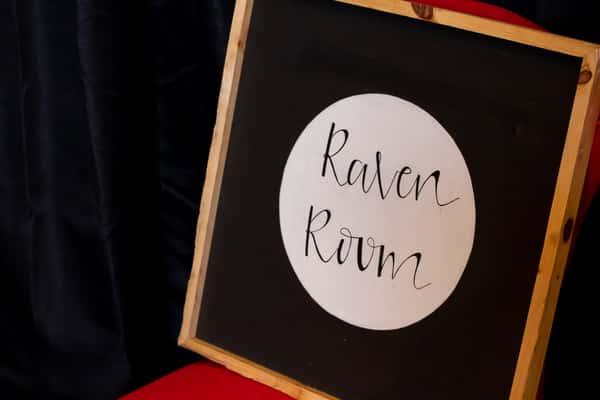 raven room sign