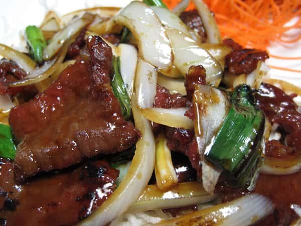 Lunch-Mongolian
