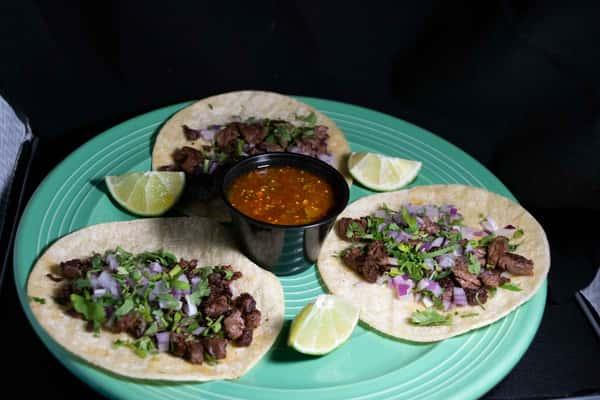 Tacos De Carne Azada