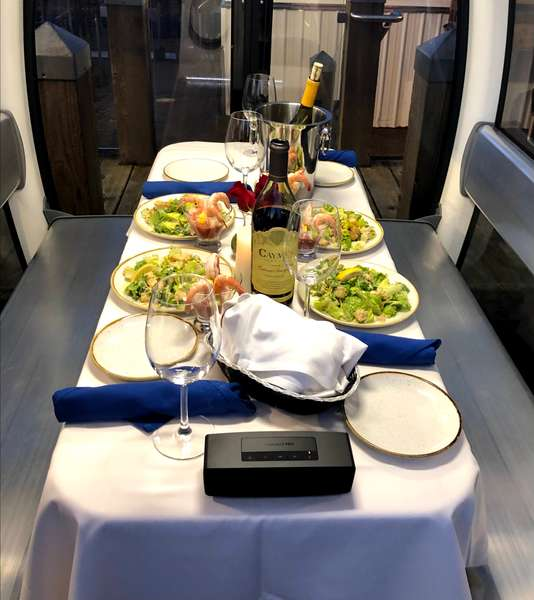 great wheel dining experience