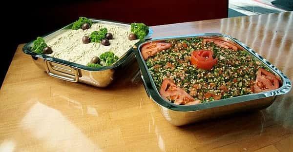 Hummus/Tabouli