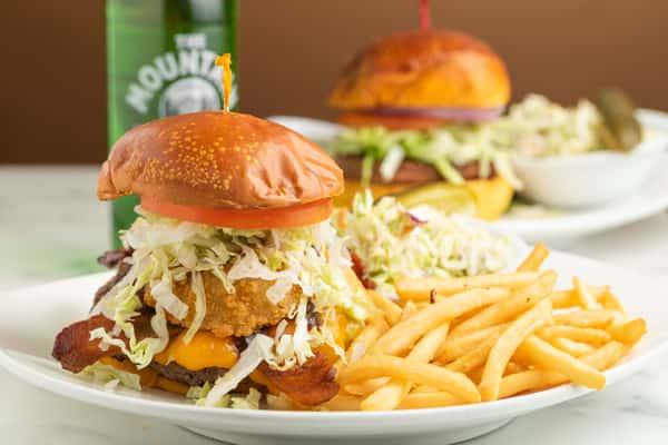 Backyard BBQ Burger 1/2 lb