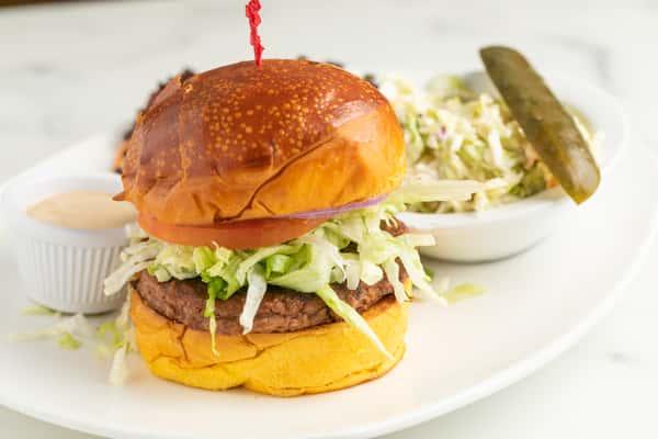 The Nosh Cheeseburger
