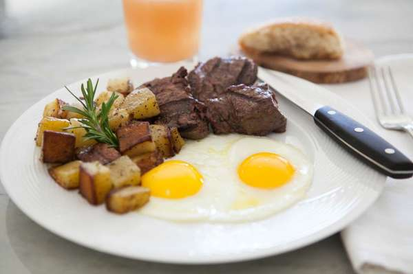 The Cowboy - Steak and Eggs