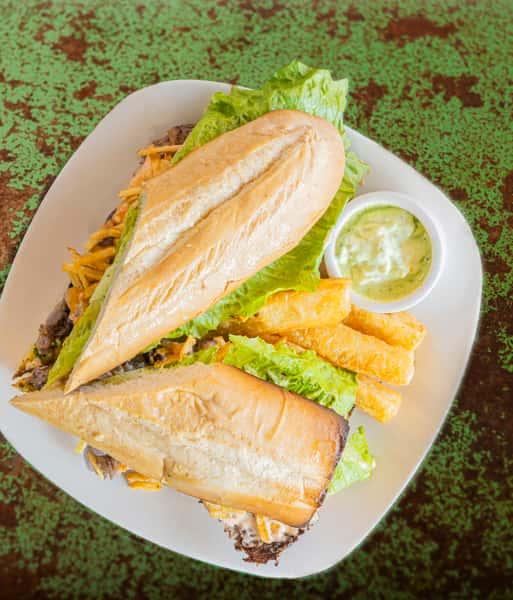 Pan Con Bistec (Steak Sandwich)