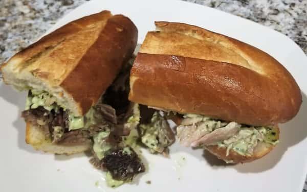 Pan Con Lechon (Pork Sandwich)