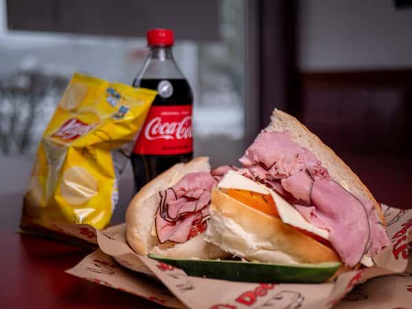 Ham & Cheese Value Combo