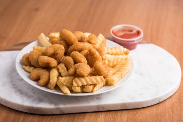 Shrimp 'n Chips