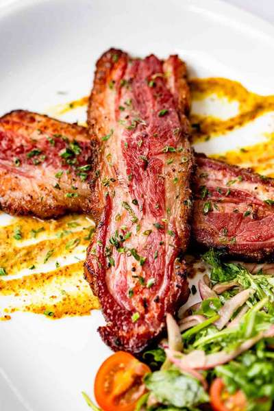 House Smoked Lamb Bacon