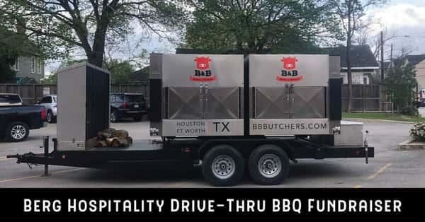 drive through bbq fundraiser