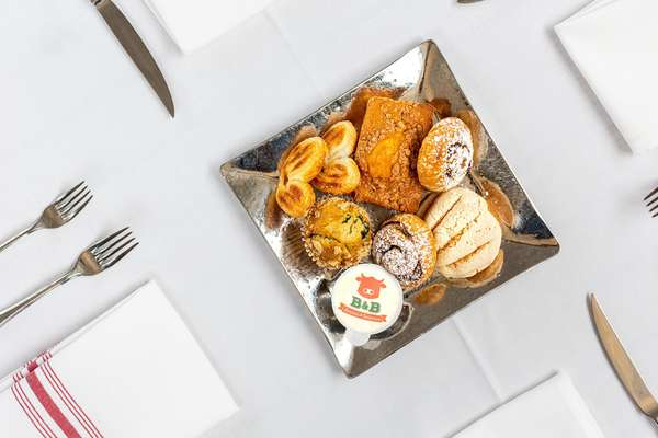 A Selection of Complimentary House-made Pastries