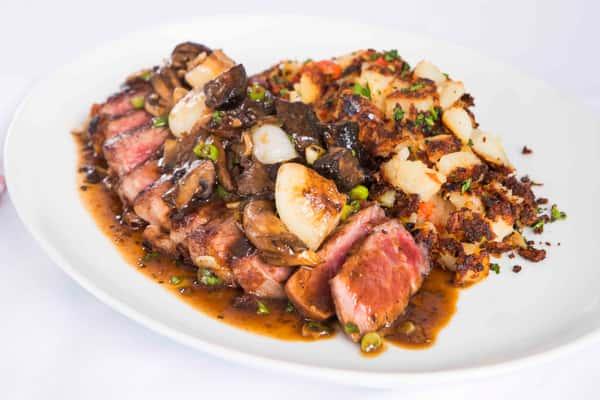 Steak a La Berg*