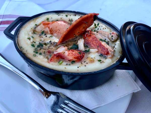Lobster Whipped Potatoes