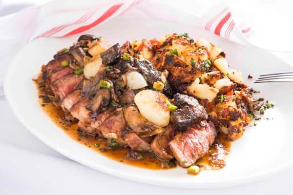 Steak à La Berg*