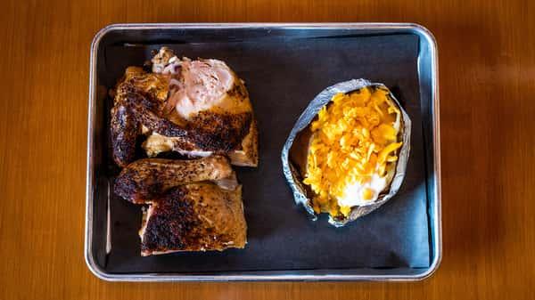 1/2 BBQ Chicken Plate