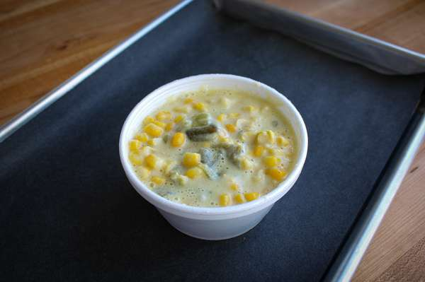 Green Chile Cream Corn
