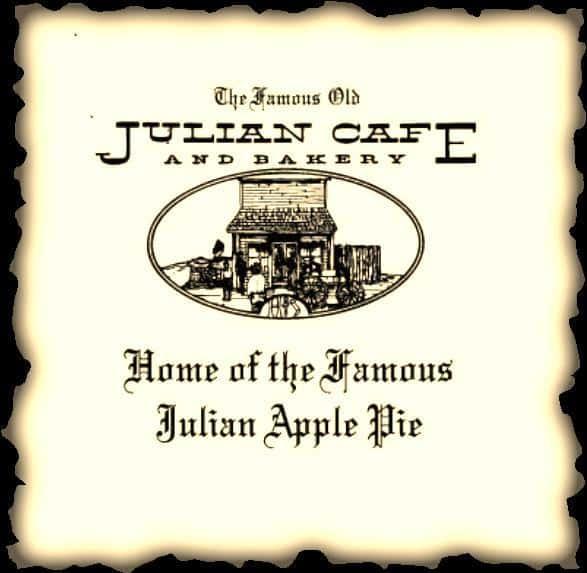 apple pie sign