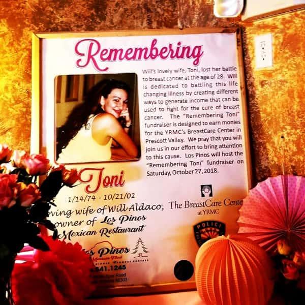 Remembering Toni event