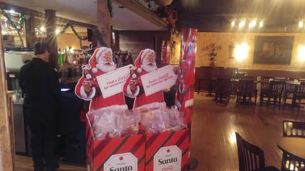 Coca-Cola Christmas party